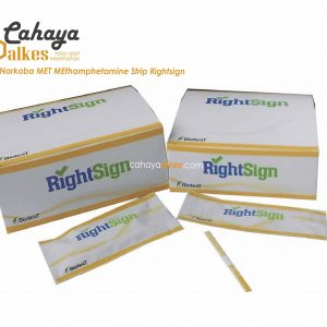 Rapid Test Narkoba MET Methamphetamine Strip Rightsign