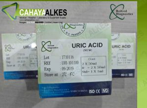Reagen Uric Acid REIGED ( 2x50ml ) Asam Urat